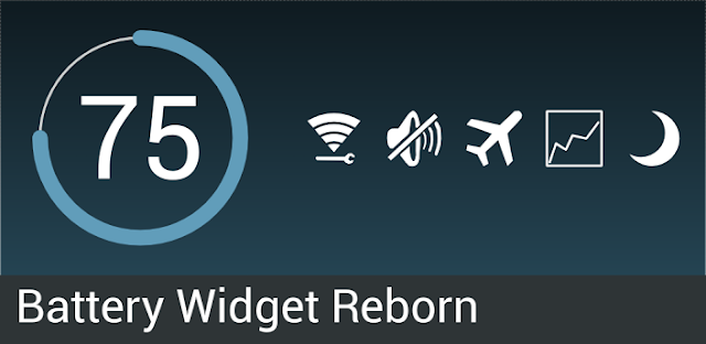 Battery Widget Reborn v1.6.0/PRO APK