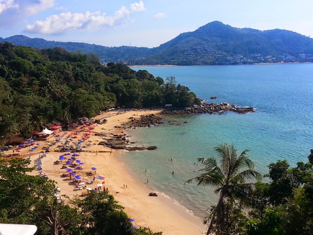 Phuket beaches - Laem Singh Beach