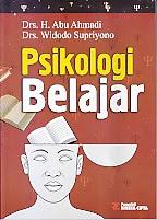 toko buku rahma: buku PSIKOLOGI BELAJAR, pengarang abu ahmadi, penerbit rineka cipta