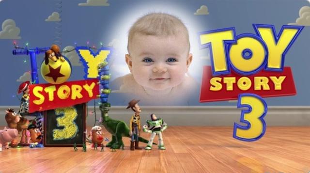 Fotomontajes Infantiles   Toy Story 3