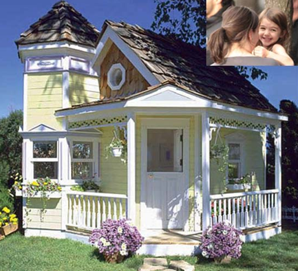 luxury victorian playhouse for children kids