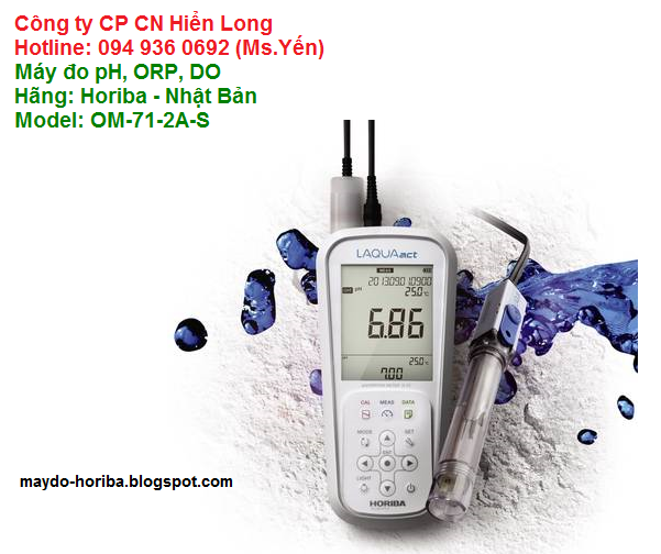 Máy đo oxi hòa tan Horiba OM-71-2A-S