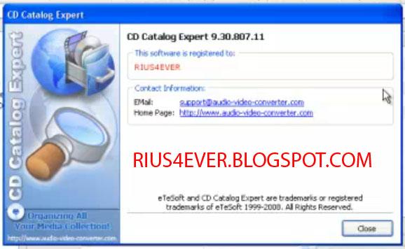 Cd catalogue expert cracker