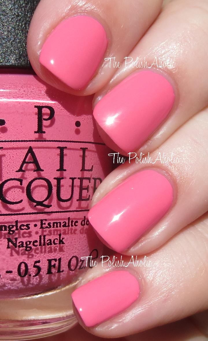 The PolishAholic: OPI Spring/Summer 2014 Brazil Collection Swatches