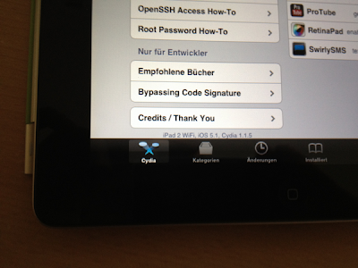 iPad 2 Operating iOS 5.1 Jailbreak