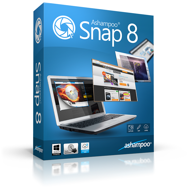 Ashampoo Snap 8.0.0 Full Crack