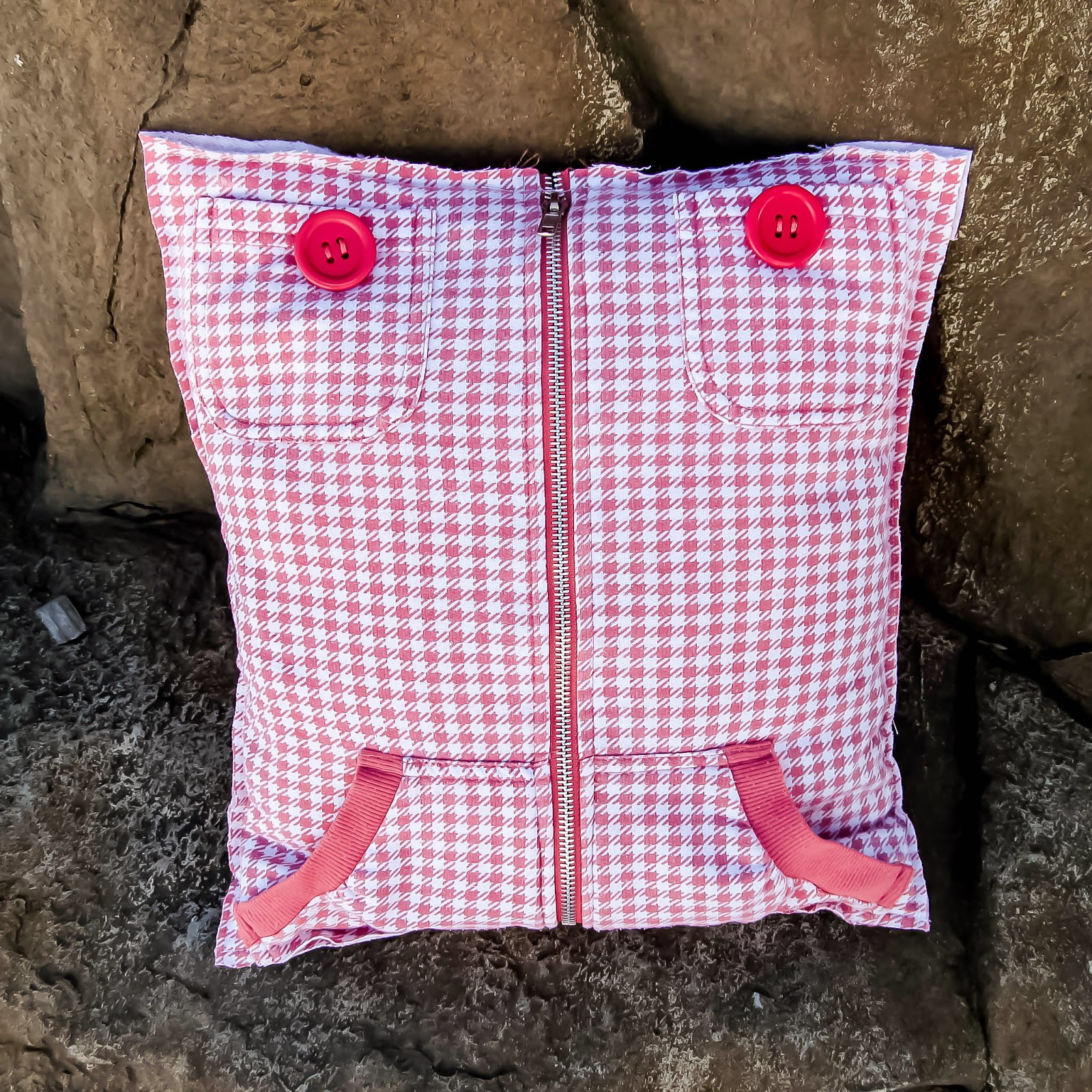 Upcycle hoodies into pillow covers! by Muslin & Merlot