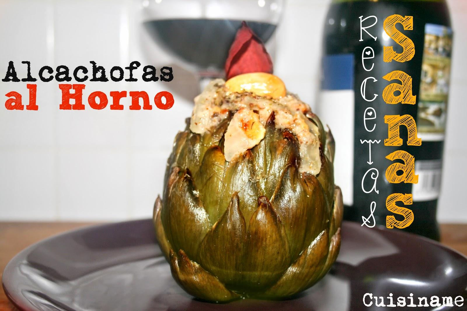 alcachofas, recetas sanas, recetas originales, verduras, almendras, avellanas, alcachofas al horno, recetas de cocina, recetas fáciles, humor
