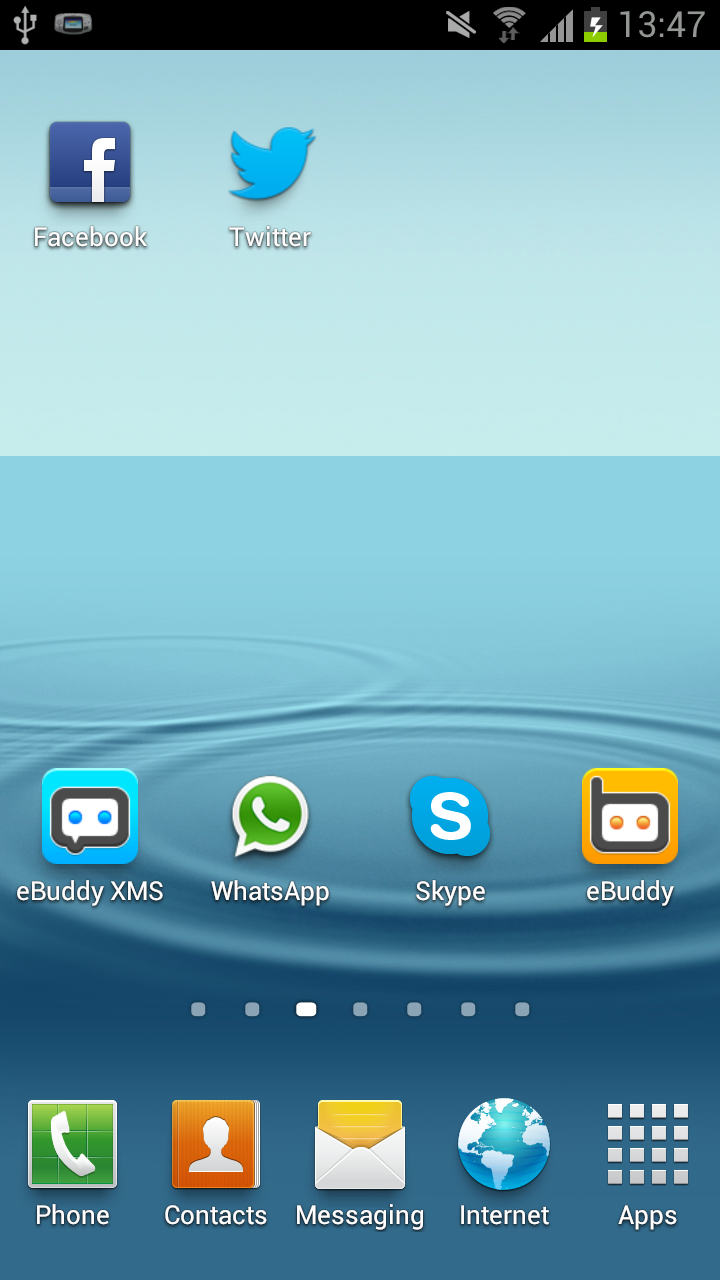 how to rearrange icons on samsung galaxy s3