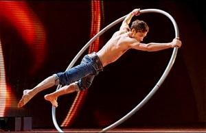 Billy George circus acrobat – Britain's Got Talen