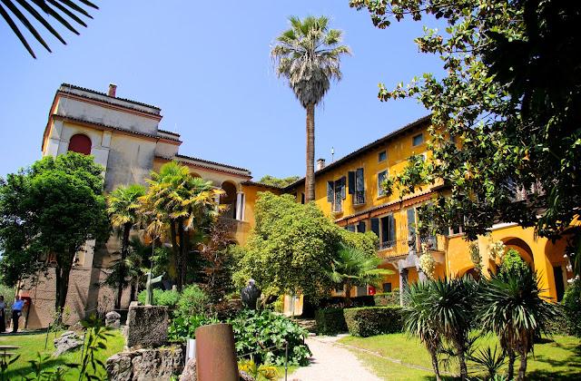 Il Vittoriale degli Italiani in Gardone Riviera.