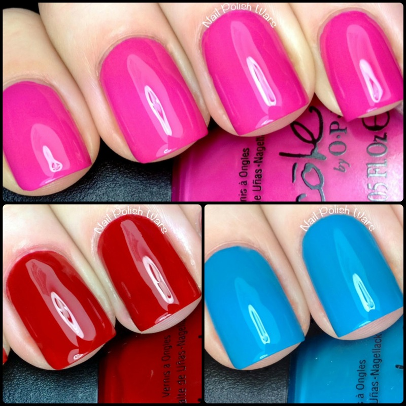 Nail Polish Wars: Nicole by OPI Special K Trio Swatch & Review