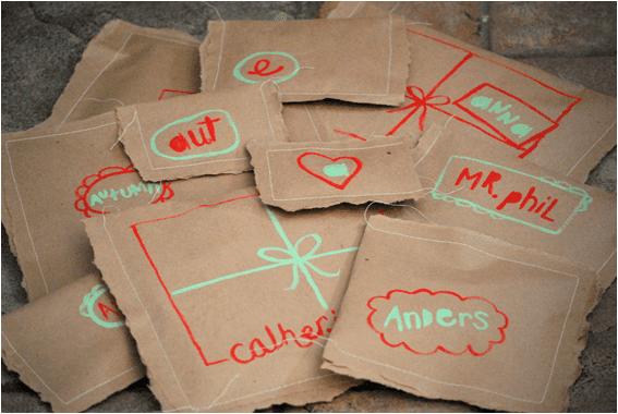 Dikilmiş Kağıt Paketler