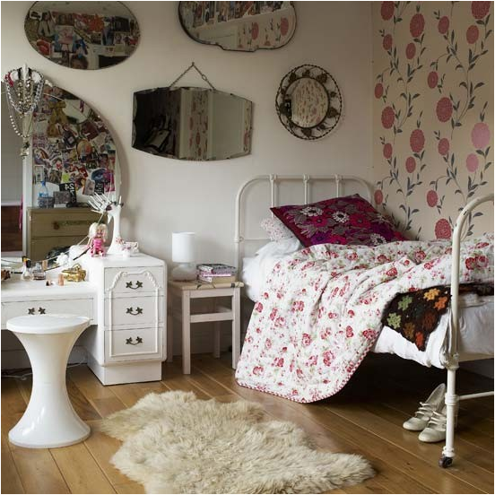 Vintage Style Teen Girls Bedroom Ideas Room Design Ideas