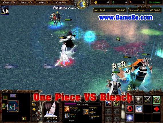 Bleach vs One Piece - Full Clear - Dota 2 - YouTube