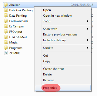 Cara Mudah Merubah Icon Folder Windows