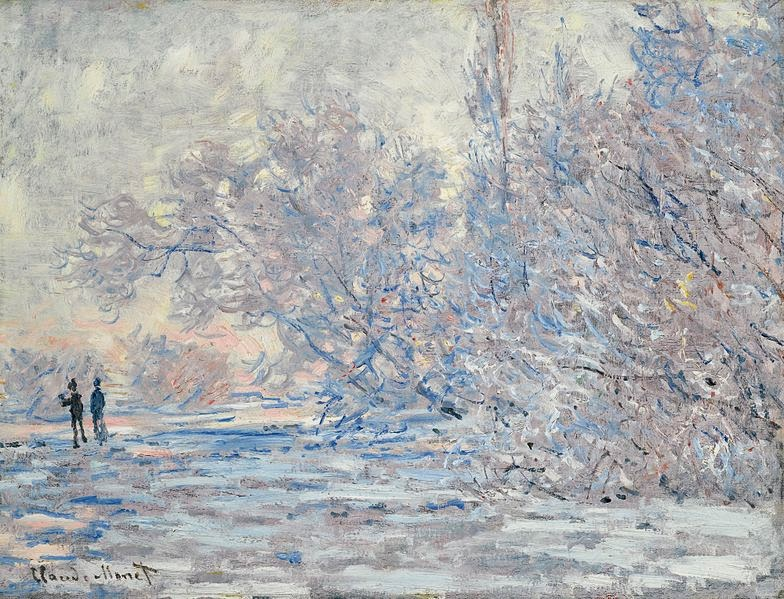 Claude Monet Le Givre a Giverny