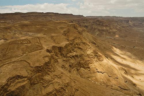 Judean Desert, Israel by Matthew Wilkinson