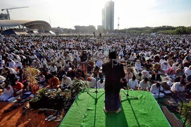 Makassar Pusatkan Salat Idul Adha di Karebosi