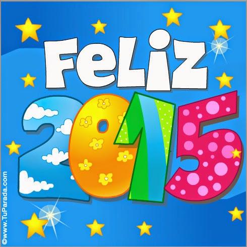 Um Feliz 2015 aos meus amigos e leitores, com muita saúde, paz e pouco dinheiro