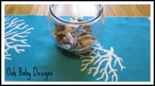 coastal table runners