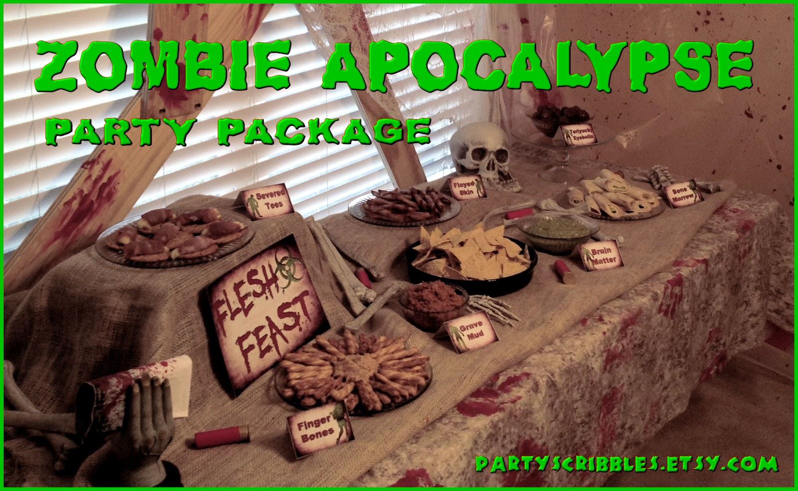 Zombie party ideas zombie party supplies 3 - Zombie Apocalypse Party