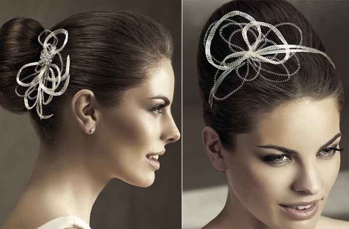 Wedding Hair Jewellery : Beautiful bridal hair accessories hairstyles and fashion