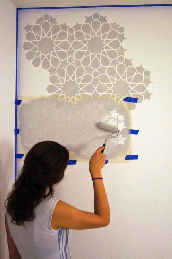 Alborada im genes de t cnicas para pintar paredes for Paredes decoradas con pintura