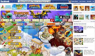 Cheat Item Melayang Dragon City