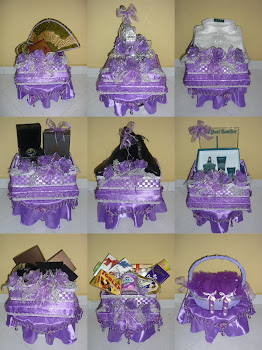 Gubahan Purple & Silver(18/12/11)
