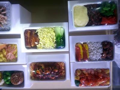 makanan di economy premium class singapore airlines