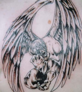 Guardian Angel Tattoo Art