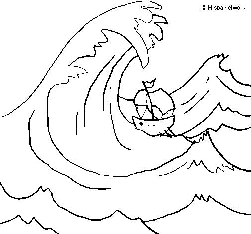 Dibujos para colorear de oceanos - Imagui