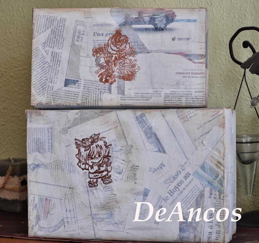 Cajas decoradas scrap - Cajas de zapatos decoradas ...