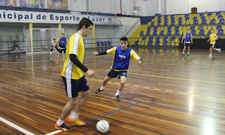 Etapas de treinamento para o Futsal