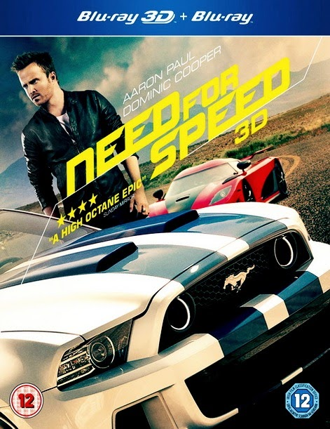Need For Speed 3D (2014) 1080p BRRip 3D SBS 3.1GB mkv Dual Audio DTS 5.1 ch