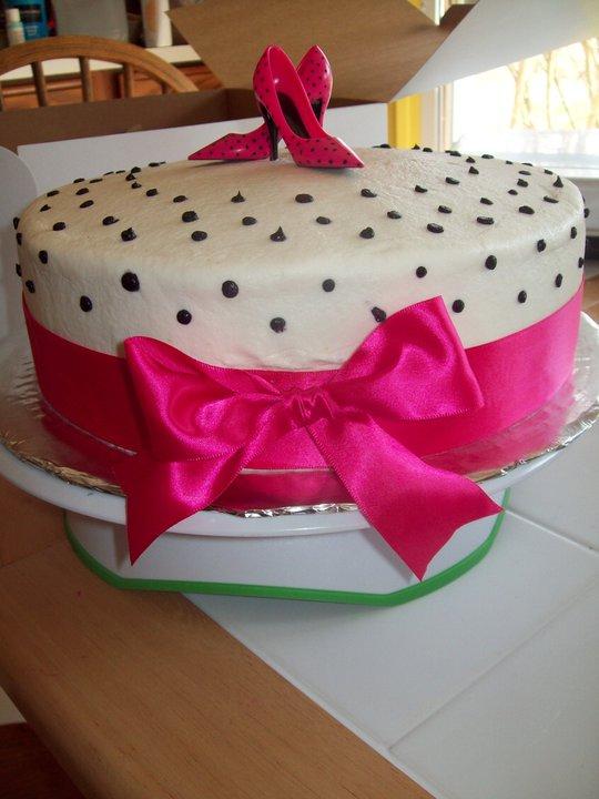 Bb Cakes High Heel Cake 2