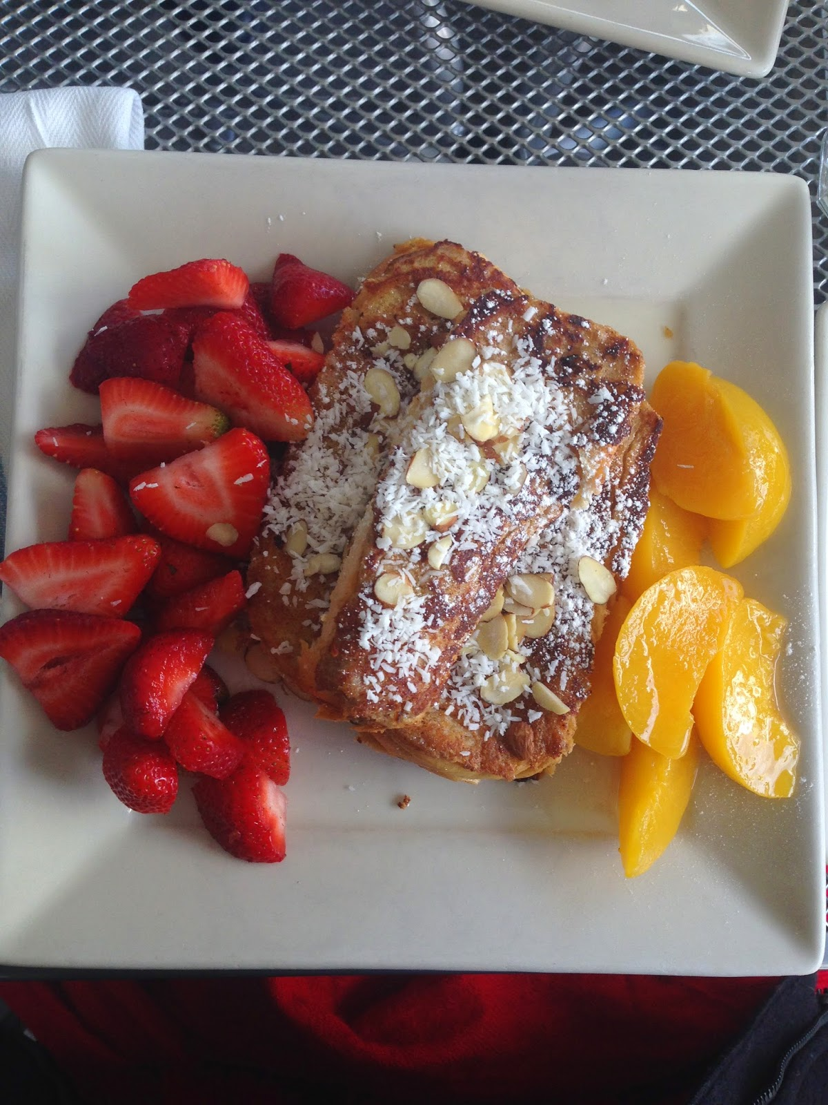 French toast at Portage Bay