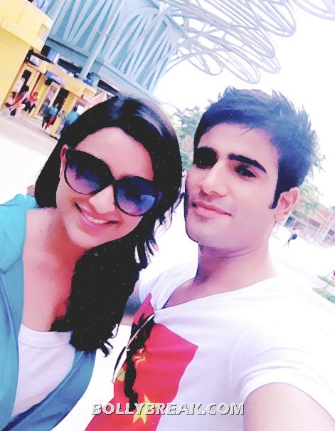 parineeti chopra with real life boyfriend karan tacker  - parineeti chopra karan tacker real life pic - boyfriend?
