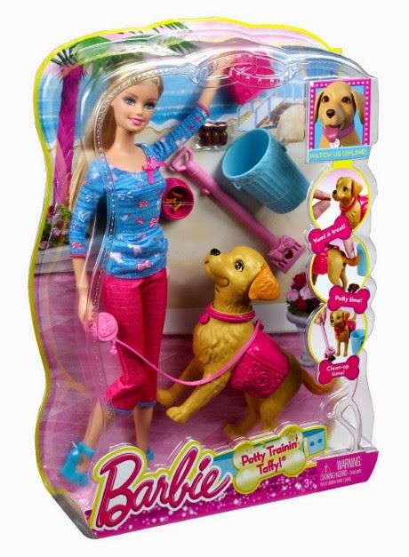 JUGUETES - BARBIE - Barbie y su perrito Taffy | Muñeca  Producto Oficial | Mattel | A partir de 3 años
