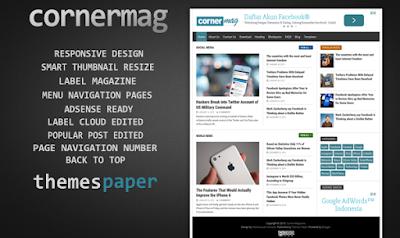 cornermag-blogger-template