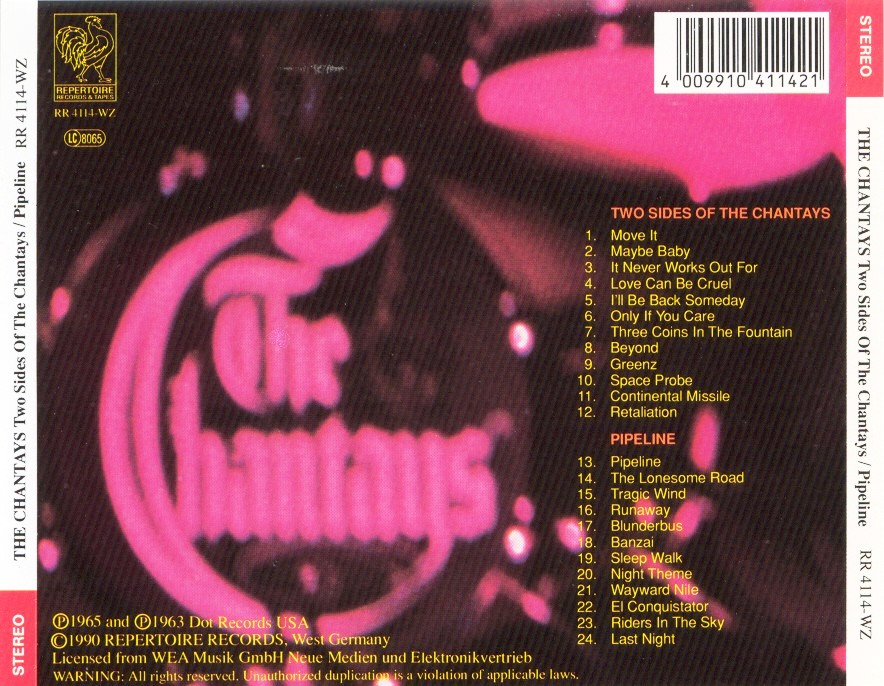 The Chantays - Two Sides Of The Chantays