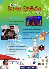 Santo Estêvão (Benavente)- Festas Populares 2015- 28 a 30 Agosto