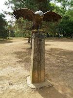 Monòlit dedicat a Fèlix Rodríguez de la Fuente