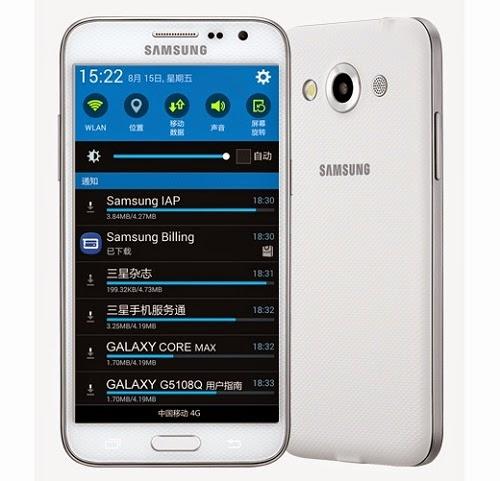 kelebihan dan kelemahan Samsung Galaxy Core Max terbaru 2015