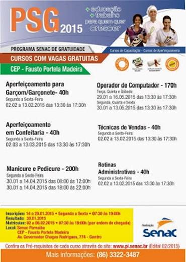 SENAC - PSG 2015 (CLICK NA IMAGEM PARA AMPLIAR)