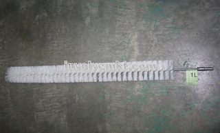 boiler tube brush, boiler brush, tube cleaning brush, pipe brush, tube brush