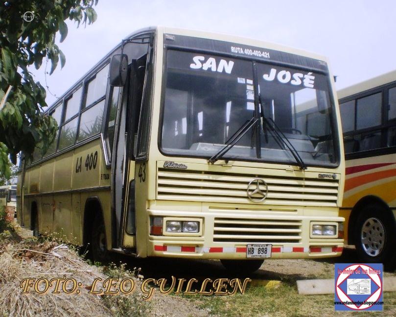 Andando en bus visita en la 400 for Mercedes benz of san jose