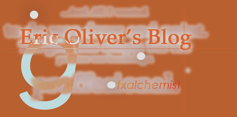 Eric Oliver's Blog