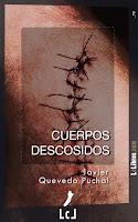 """Portada del libro """"Cuerpos descosidos"""", de Javier Quevedo Puchal"""